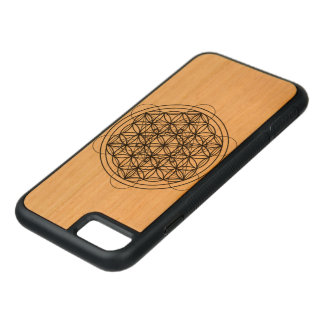 Sacred geometry carved iPhone 8/7 hülle