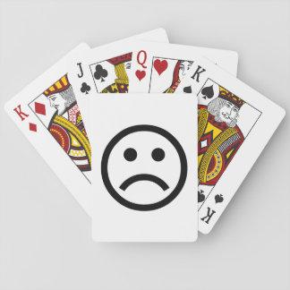 ☹☹☹Sad Face☹☹☹ Spielkarten: ( Spielkarte