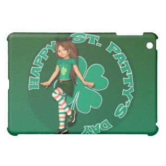 Sadie 16 Tag St. Pattys iPad Fall iPad Mini Cover