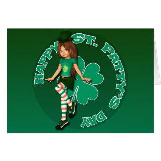 Sadie 16 Tag St. Pattys Karte