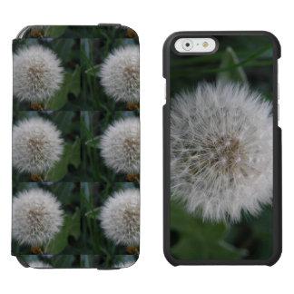 Säen des Löwenzahn-Blume iPhone Geldbörsen-Kastens Incipio Watson™ iPhone 6 Geldbörsen Hülle