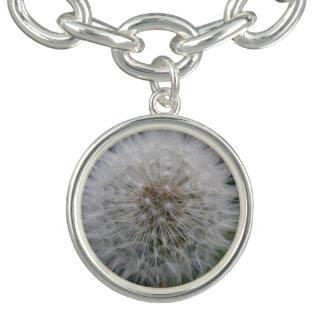 Säen des Löwenzahn-Blumen-Charme-Armbandes Armband