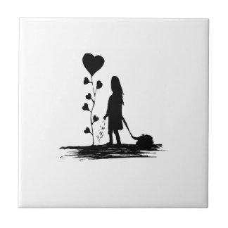 Säen-Liebe-Konzept-Illustration Fliese