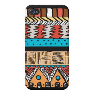Safari-Azteke-Muster iPhone 4/4S Cover