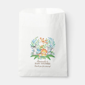 Safari-Dschungel-Babyparty-Bevorzugungs-Taschen Geschenktütchen