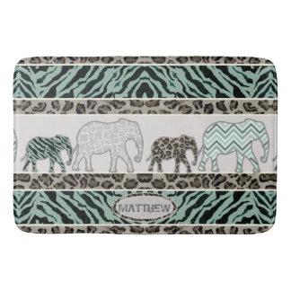 Safari-Elefant-Little Boy-Badezimmer-LeopardZebra Badematte