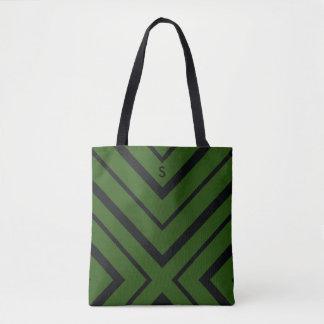 Safari-grüne Diamant-Reise-Tasche Tasche