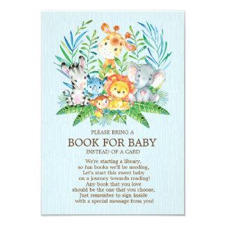 Safari JungleBoysBaby Duschen-Buch für Baby Karte