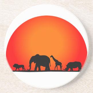 Safari Untersetzer