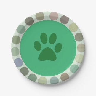 Safaribaby-Party-Teller Pappteller