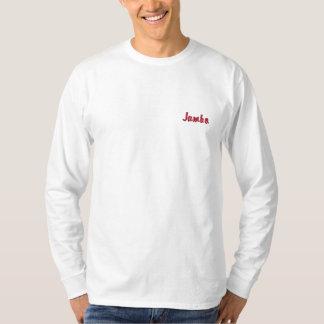 Safaridesigner Jambo Kleidung für Männer Besticktes Langarmshirt