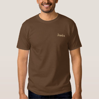 Safaridesigner Jambo Kleidung für Männer Besticktes T-Shirt
