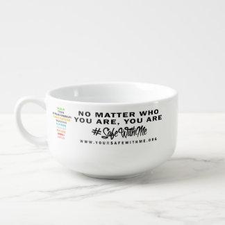 Safe mit mir Quersuppen-Tasse Große Suppentasse