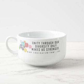 Safe mit mir Zahn-Suppen-Tasse Große Suppentasse