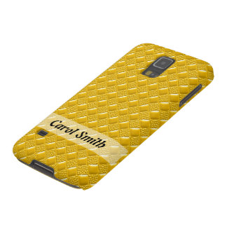 Safran-Gelb Galaxy S5 Cover