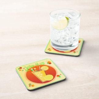 Saft es herauf Cocktail-Untersetzer Getränkeuntersetzer