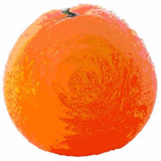 Saftige Orange Fotoskulptur Magnet