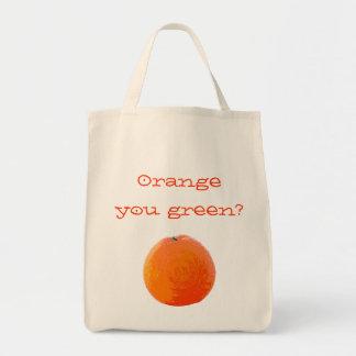 Saftige orange Tasche