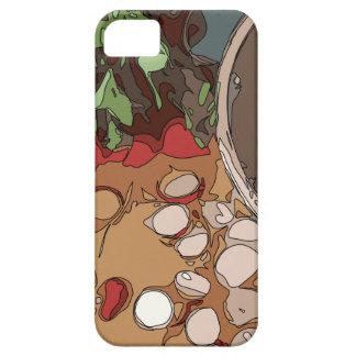 Saftige Rettiche und gegrillte Kartoffel iPhone 5 Etuis