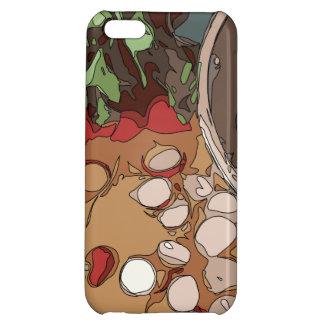 Saftige Rettiche und gegrillte Kartoffel iPhone 5C Cover