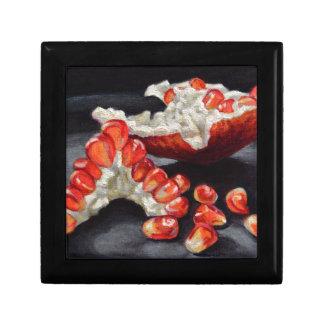 Saftiger Granatapfel Erinnerungskiste