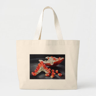 Saftiger Granatapfel Jumbo Stoffbeutel