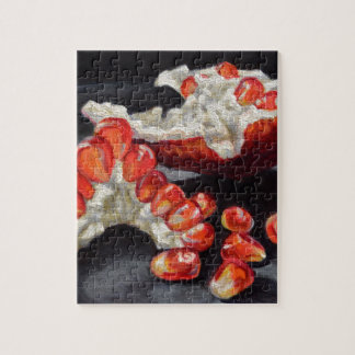 Saftiger Granatapfel Puzzle