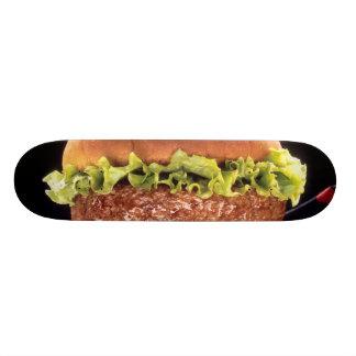 Saftiger Hamburger Individuelle Skateboarddecks