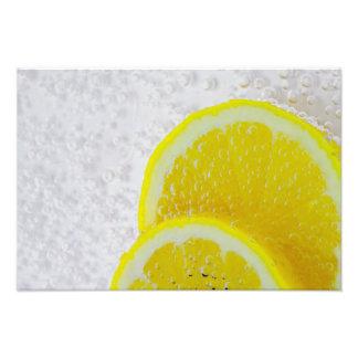 """""""Saftiger Zitronen-Fotodruck """" Fotodrucke"""