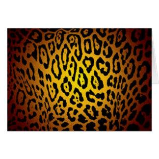 Saftiges Jaguar Karte