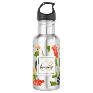 Saftiges Korinthe-Monogramm Trinkflasche
