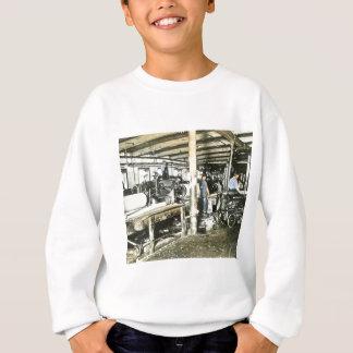 Sägemühle-Arbeitskraft-magische Laternen-Dia 6 Sweatshirt