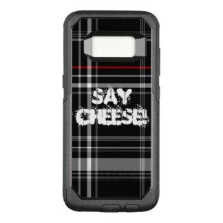 sagen Sie den karierten Käse OtterBox Commuter Samsung Galaxy S8 Hülle