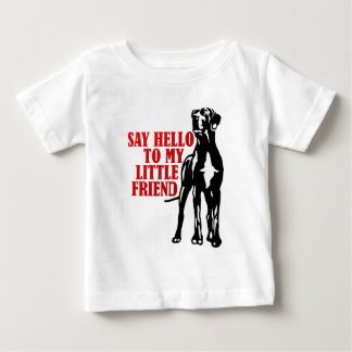 sagen Sie hallo zu meinem kleinen Freund Baby T-shirt