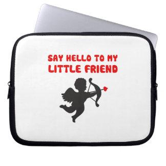 Sagen Sie hallo zu meinem kleinen Laptopschutzhülle