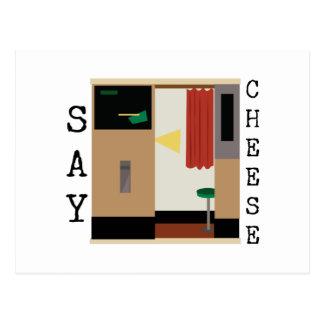 Sagen Sie Käse Postkarte