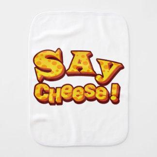 sagen Sie Käse! Spucktuch