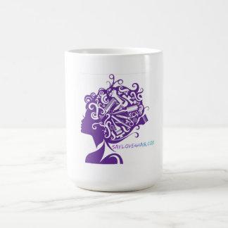 Sagen Sie Liebe für Haar Kaffeetasse