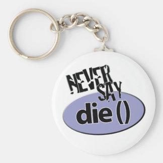 Sagen Sie nie die () PHP Keychain Schlüsselanhänger