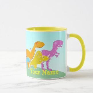 Sagen Sie Rawr! Dinosaurier-NamensTasse Tasse