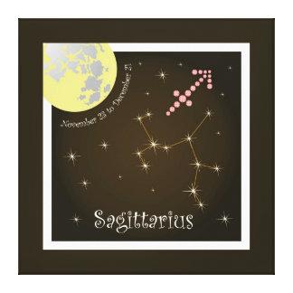 Sagittarius November 23 to December 21 Leinwand