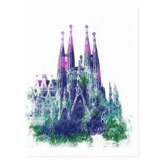 Sagrada Familia Barcelona Postkarte