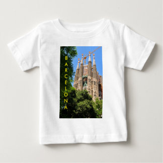 Sagrada Familia in Barcelona, Spanien Baby T-shirt