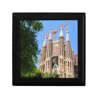 Sagrada Familia in Barcelona, Spanien Erinnerungskiste