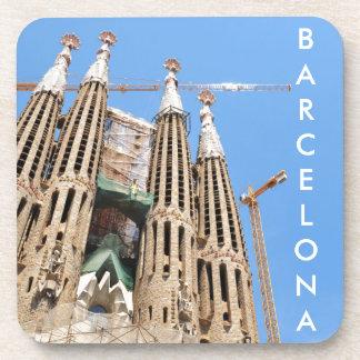 Sagrada Familia in Barcelona, Spanien Getränkeuntersetzer