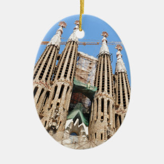 Sagrada Familia in Barcelona, Spanien Keramik Ornament