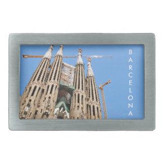 Sagrada Familia in Barcelona, Spanien Rechteckige Gürtelschnalle
