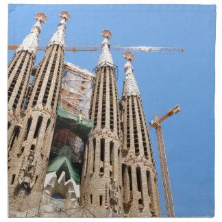 Sagrada Familia in Barcelona, Spanien Serviette