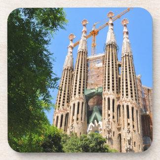 Sagrada Familia in Barcelona, Spanien Untersetzer