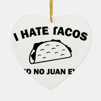 Sagte keinen Juan überhaupt Keramik Ornament